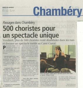 Passages La Vie Nouvelle 06/05/2010